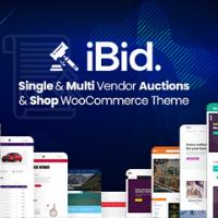 iBid Theme Logo