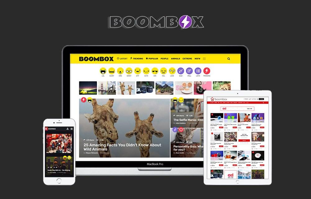 Get BoomBox WordPress Theme