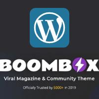 BoomBox Theme Logo