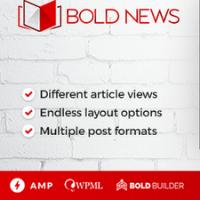 Bold News Theme Logo