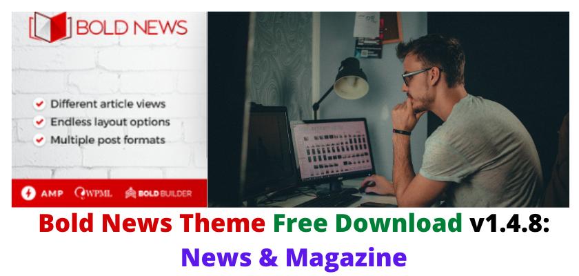 Bold News Theme