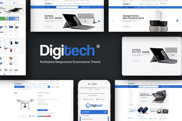 Digitech Theme For WooCommerce