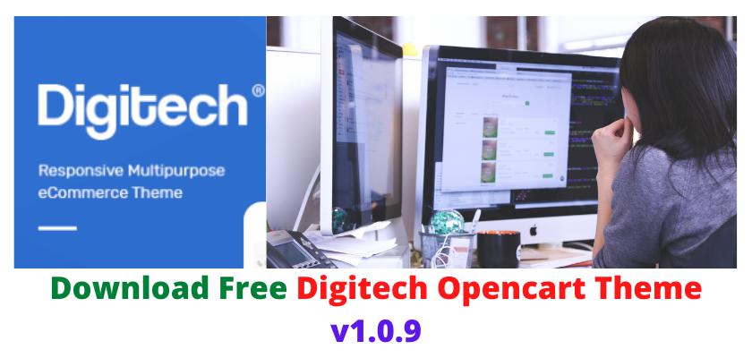 Digitech Opencart Theme