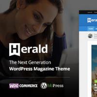 Logo of Herald Theme