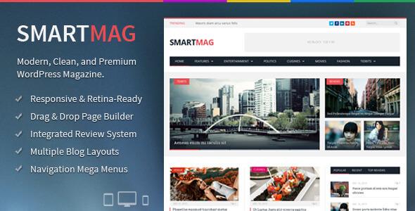 SmartMag Theme For Magazine Website