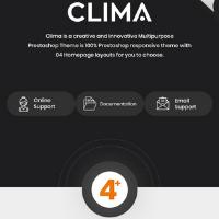 Clima Theme Logo