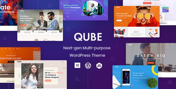 Qube - Multipurpose Business WP Theme