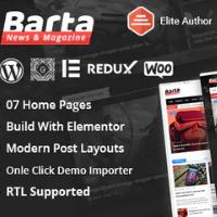 Logo of Barta WordPress Template