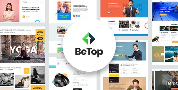 BeTop Website Layouts