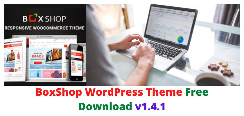 BoxShop WordPress Theme