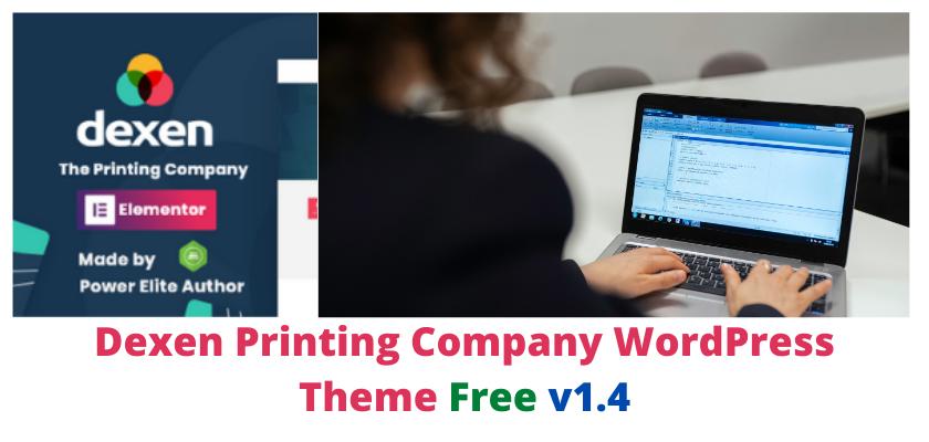Dexen Printing Company WordPress Theme