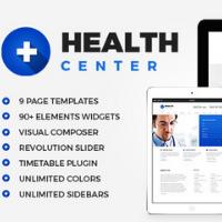 Health Center WordPress Theme Logo