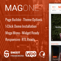 Logo of MagOne Template for WordPress