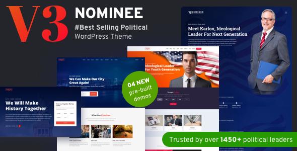 Nominee Theme For WordPress