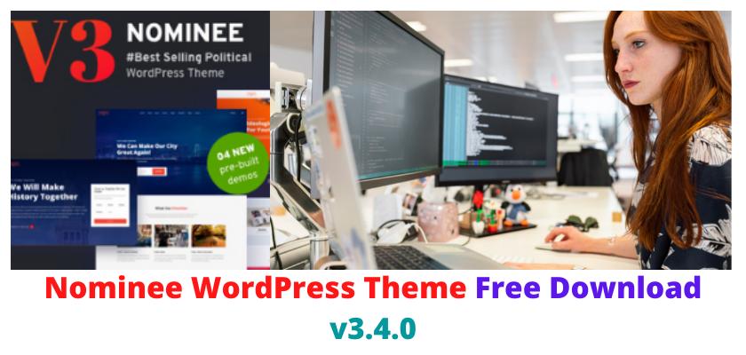 Nominee WordPress Theme