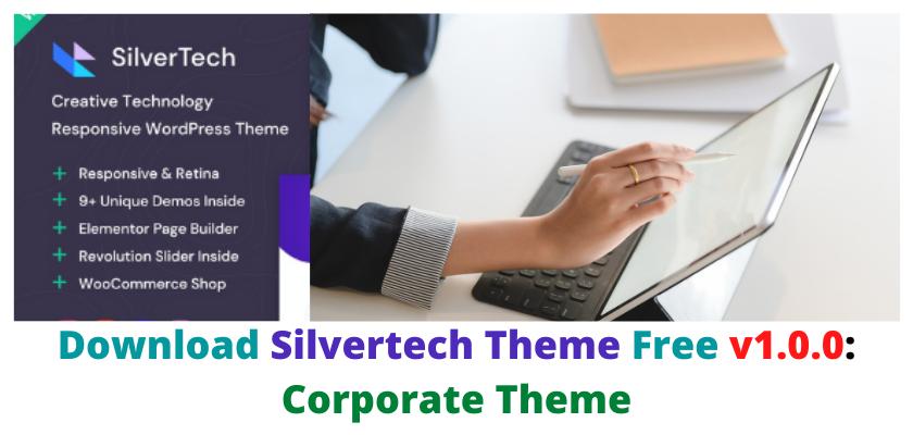 Silvertech Theme