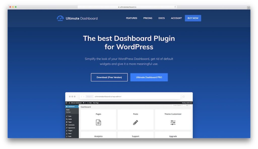 Ultimate WordPress Dashboard