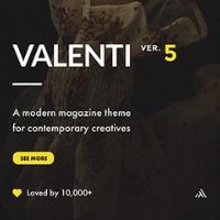 Valenti WordPress Theme Logo
