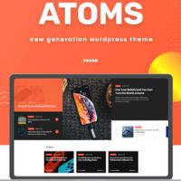 Atoms WordPress Theme
