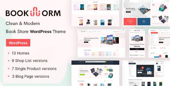Bookworm WordPress Theme