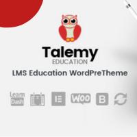 Talemy LMS WordPress Theme