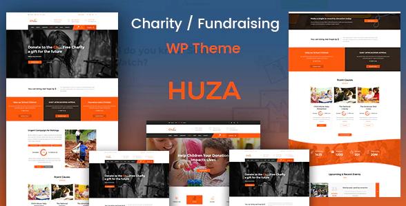 Huza WordPress Theme