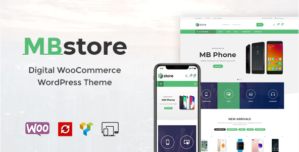 MBStore WordPress Theme