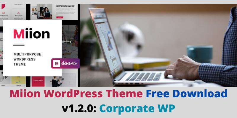 Miion WordPress Theme