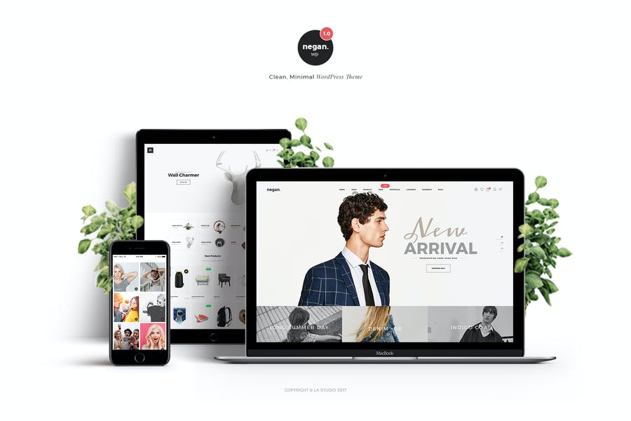 Negan WordPress Theme