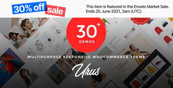 Urus WordPress Theme