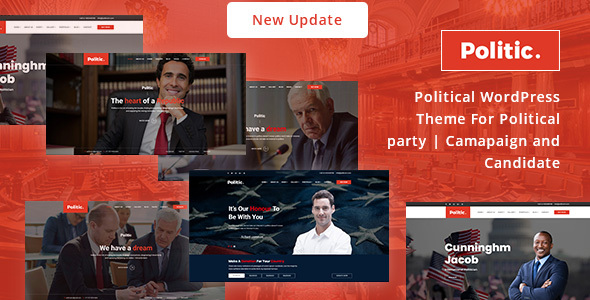 Politic WordPress Theme