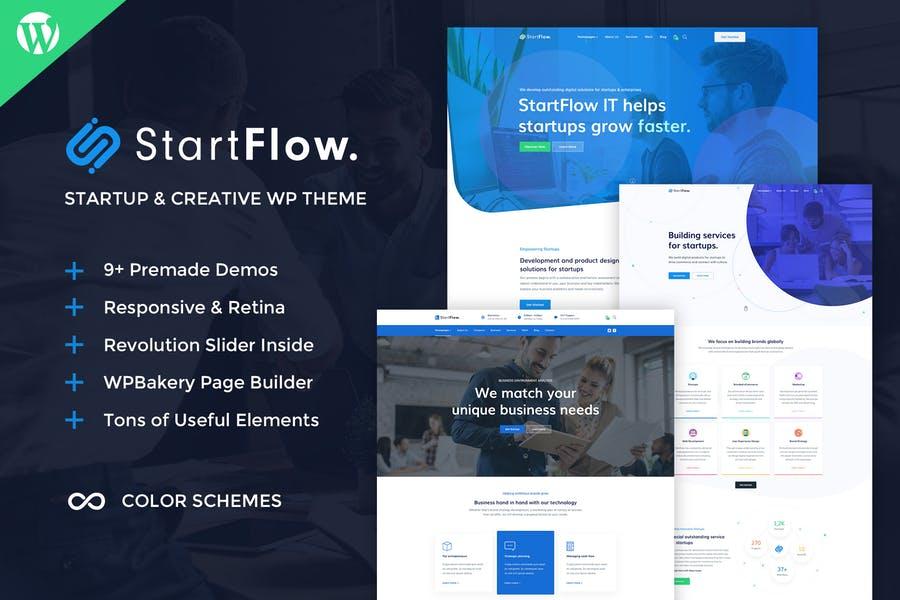 StartFlow WordPress Theme