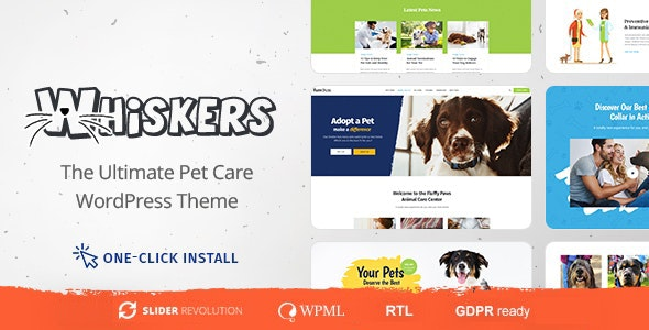 Whiskers WordPress Theme
